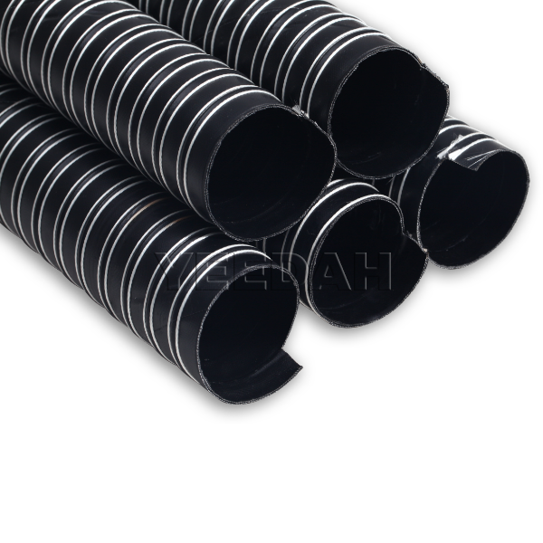 4m Double Layer Neoprene Ducting Hose with Cuffs by Yeedah