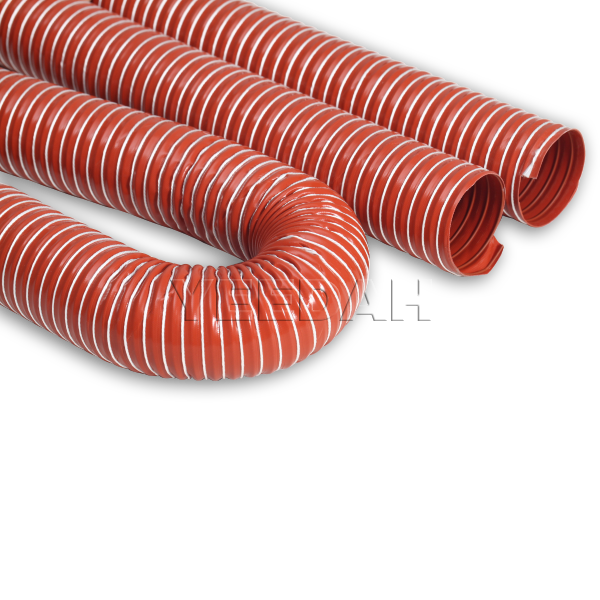 Single Layer Silicone Flexible Ducting Hose Ducting Pipe Ducting Tube by Yeedah