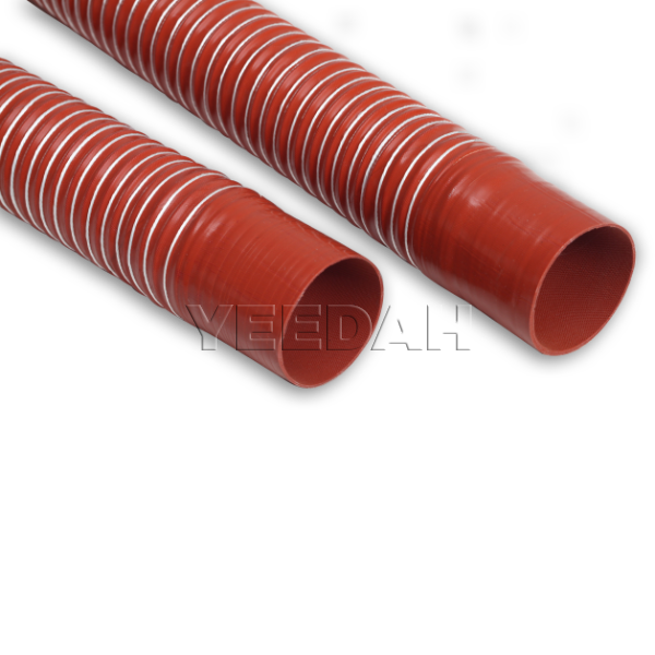 Single Layer Silicone Flexible Ducting Hose with Cuffs by Yeedah