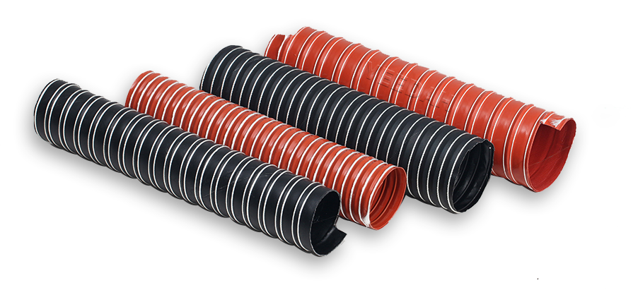 Flexible Ducting Hoses Produced by Yeedah Silicone Pipe Neoprene Pipe